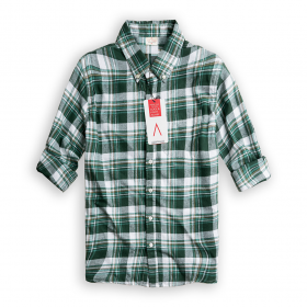 Sơ mi sọc Green Light Softest Flannel