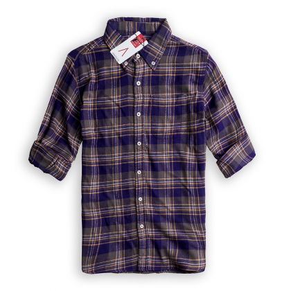 Sơ mi sọc Air Purple Light Softest Flannel
