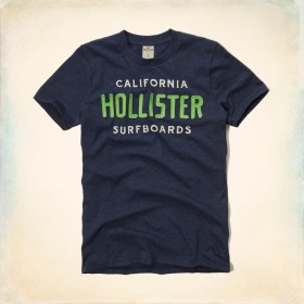 TSB190 - Áo thun nam Hollister California Graphic Tee