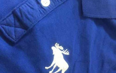 Phân biệt áo thun nam abercrobmie fitch và holister cổ trụ thật giả