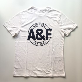 TSAA442 - Áo thun nam Abercrombie Fitch WhiteTee Graphic