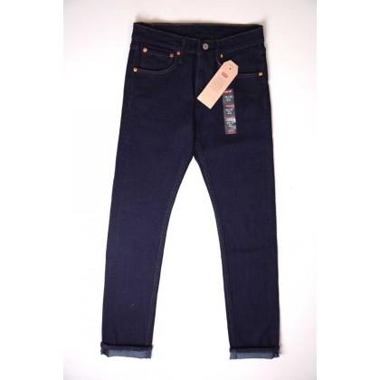 Quần Jeans nam levi's xuất dư xịn slim fit dark blue