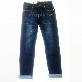 JB006 - Quần Jeans Abercrombie Fitch Slim Fit - Black Blue